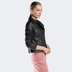Dámská bunda, černá, 90-9P-100-1-L, Obrázek 1