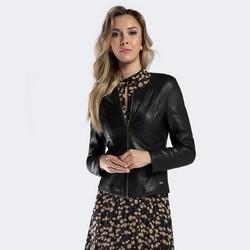 Dámská bunda, černá, 90-9P-101-1-S, Obrázek 1