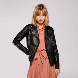 Dámská bunda, černá, 92-09-802-1-XL, Obrázek 1