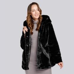 Dámská bunda, černá, 93-9W-100-1-XL, Obrázek 1