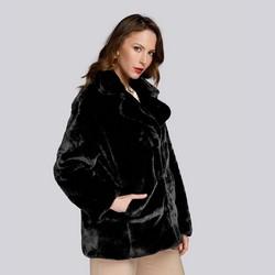 Dámská bunda, černá, 93-9W-100-1B-XL, Obrázek 1