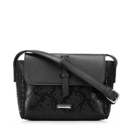 Dámská kabelka, černá, 91-4Y-207-1, Obrázek 1