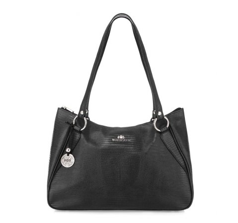 Dámská kabelka, černá, 15-4-061-1J, Obrázek 1