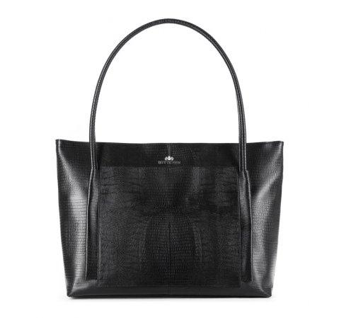 Dámská kabelka, černá, 15-4-206-1J, Obrázek 1