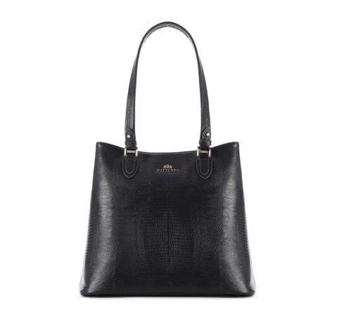 Dámská kabelka, černá, 15-4-207-1J, Obrázek 1