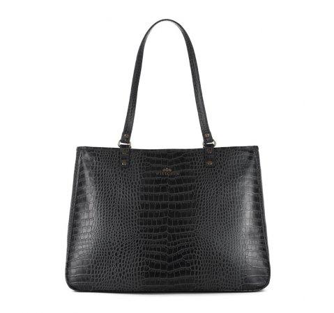 Dámská kabelka, černá, 15-4-324-4, Obrázek 1