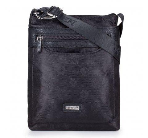 Dámská kabelka, černá, 29-4L-301-9, Obrázek 1