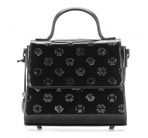 Dámská kabelka, černá, 34-4-080-1L, Obrázek 1