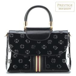 Dámská kabelka, černá, 34-4-097-1L, Obrázek 1