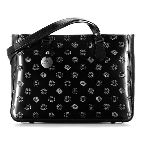 Dámská kabelka, černá, 34-4-098-6L, Obrázek 1