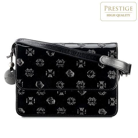 Dámská kabelka, černá, 34-4-100-1L, Obrázek 1