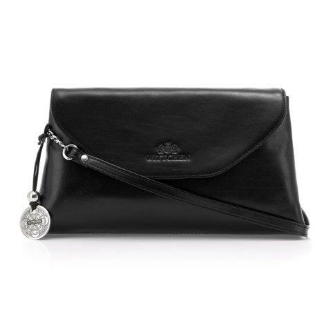 Dámská kabelka, černá, 35-4-043-3, Obrázek 1