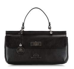 Dámská kabelka, černá, 35-4-585-1, Obrázek 1