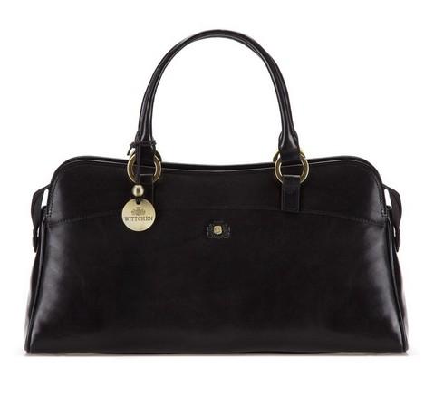 Dámská kabelka, černá, 39-4-532-3, Obrázek 1