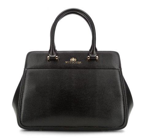 Dámská kabelka, černá, 85-4E-411-1, Obrázek 1