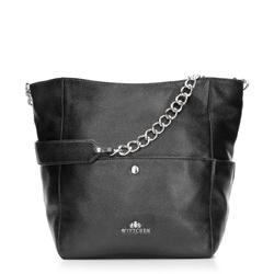 Dámská kabelka, černá, 86-4E-376-1, Obrázek 1