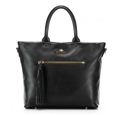 Dámská kabelka, černá, 86-4E-401-8, Obrázek 1