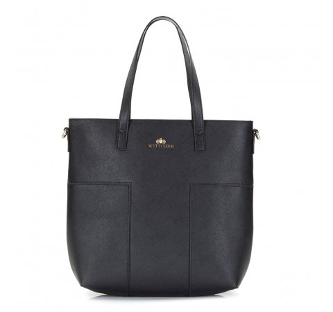 Dámská kabelka, černá, 86-4E-430-1, Obrázek 1