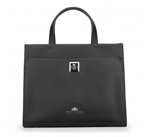 Dámská kabelka, černá, 87-4-582-1, Obrázek 1
