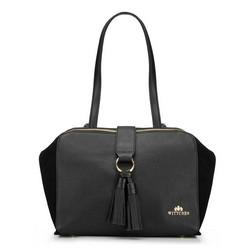 Dámská kabelka, černá, 87-4E-201-1, Obrázek 1