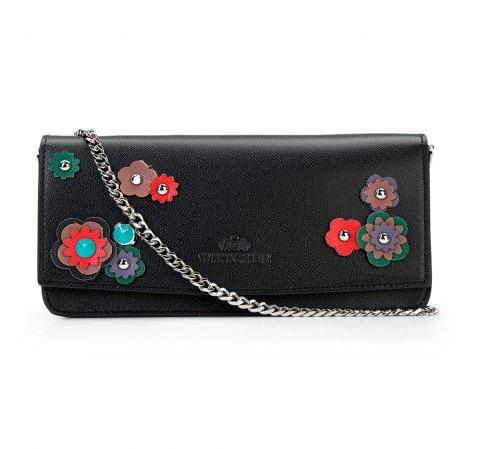 Dámská kabelka, černá, 87-4E-213-9, Obrázek 1