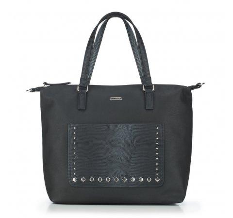 Dámská kabelka, černá, 87-4Y-709-1, Obrázek 1