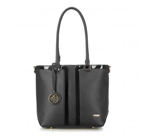 Dámská kabelka, černá, 87-4Y-758-2, Obrázek 1