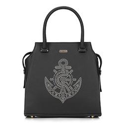 Dámská kabelka, černá, 87-4Y-767-1, Obrázek 1