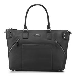 Dámská kabelka, černá, 88-4E-200-1, Obrázek 1