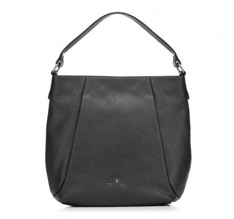 Dámská kabelka, černá, 88-4E-211-V, Obrázek 1