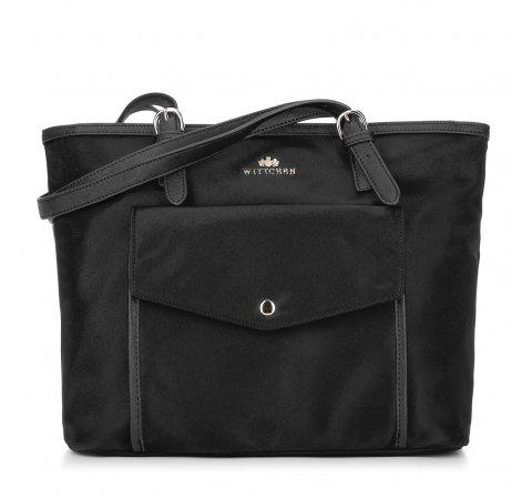 Dámská kabelka, černá, 88-4E-219-9, Obrázek 1
