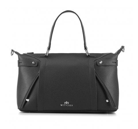 Dámská kabelka, černá, 88-4E-301-7, Obrázek 1