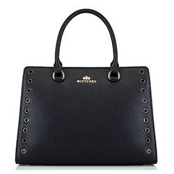 dámská kabelka, černá, 88-4E-405-1, Obrázek 1