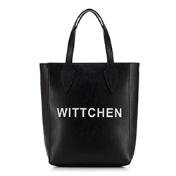 dámská kabelka, černá, 88-4E-433-1, Obrázek 1