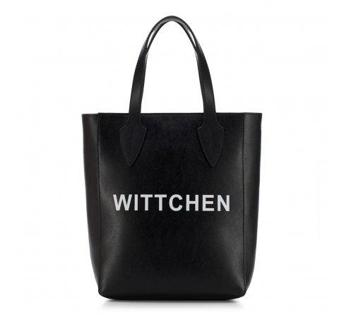 dámská kabelka, černá, 88-4E-433-V, Obrázek 1