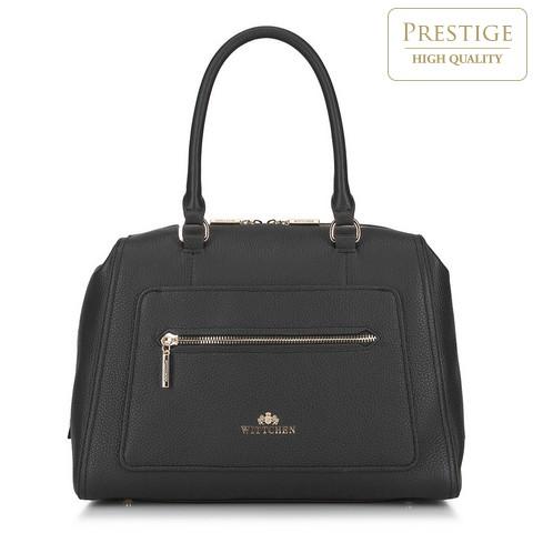 Dámská kabelka, černá, 88-4E-436-7, Obrázek 1