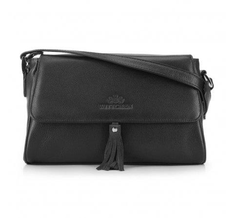 Dámská kabelka, černá, 88-4E-933-Z, Obrázek 1