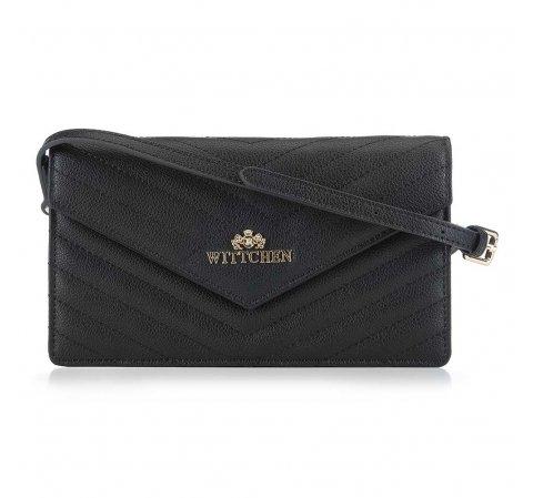 Dámská kabelka, černá, 89-4-254-P, Obrázek 1
