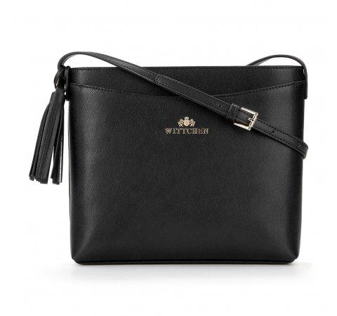 Dámská kabelka, černá, 89-4-641-9, Obrázek 1