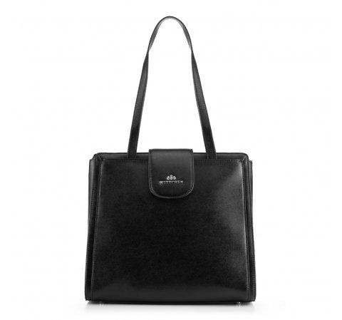 Dámská kabelka, černá, 89-4E-203-1, Obrázek 1