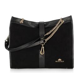 Dámská kabelka, černá, 89-4E-350-1, Obrázek 1