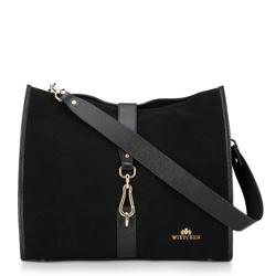 Dámská kabelka, černá, 89-4E-351-1, Obrázek 1