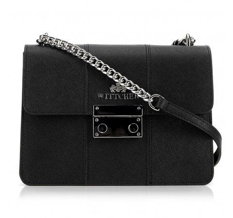 Dámská kabelka, černá, 89-4E-411-7, Obrázek 1