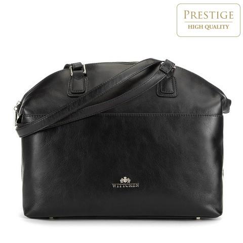 Dámská kabelka, černá, 89-4E-428-1, Obrázek 1
