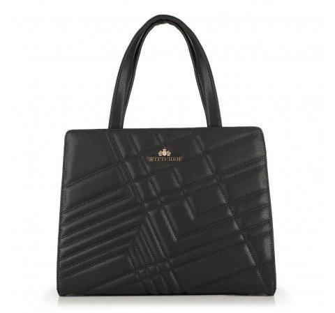 Dámská kabelka, černá, 89-4E-504-V, Obrázek 1