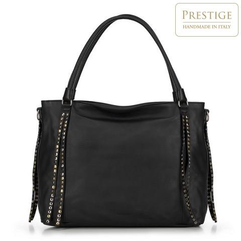 Dámská kabelka, černá, 90-4E-003-0, Obrázek 1