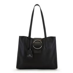 Dámská kabelka, černá, 90-4E-350-1, Obrázek 1