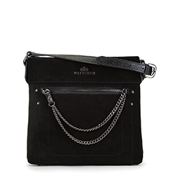 Dámská kabelka, černá, 90-4E-361-1, Obrázek 1