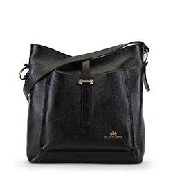 Dámská kabelka, černá, 90-4E-366-1, Obrázek 1