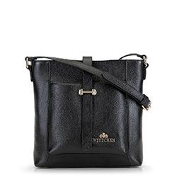 Dámská kabelka, černá, 90-4E-367-1, Obrázek 1
